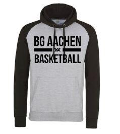 NBA BB Hoodie hellgrau/schwarz